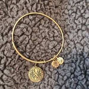"""Path of Life"" Gold  Alex and Ani bracelet"